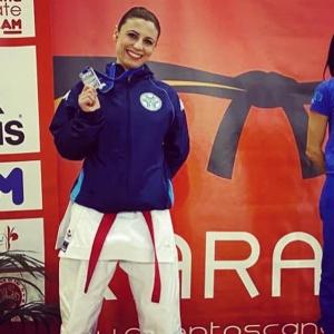 Il Team Karate Grassucci riconferma tutte le categorie. Nilde dedica il podio alla sorella Linda