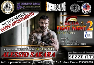 "Tutto pronto per il ""Setia Fight Night 2"""