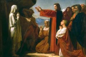 Gesù riporta Lazzaro alla vita
